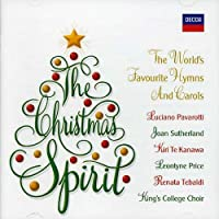 Christmas Spirit: World's Fav Hymns & Carols