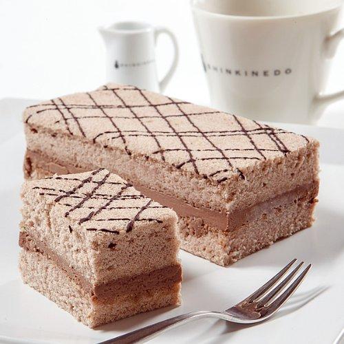 新杵堂 豆乳を使ったふわふわチョコレートケーキ「チョコふわふわ」 1本