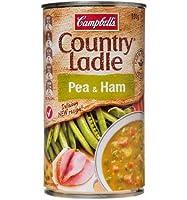 キャンベルスープ国の鍋スープ型家庭的エンドウ、ハム500g