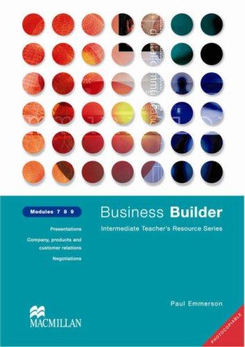 Business Builder Modules 7 8 9