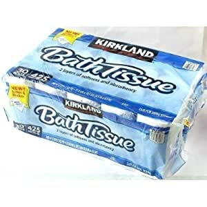 カークランド KIRKLAND バスティッシュ(トイレットペーパー) 2枚重ね 30ロール(6ロール×5パック)×48セット
