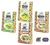 チブギス 有機JAS認定 オーガニック タイカレー ペースト ( 全4種類セット ) ココナッツミルク入 ドライハーブ付【有機・グルテンフリー・ヴィーガン】CIVGIS & lumlum Organic Glutenfree Vegan Thai Curry 4 Item Set