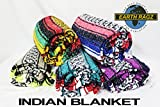 """EARTH RAGZ by RAMATEX / インディアンブランケット MADE IN MEXICO """"INDIAN BLANKET"""" (A〜C) (A)"""