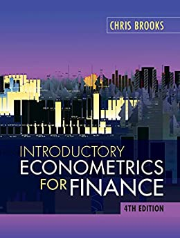 Introductory Econometrics for Finance by [Brooks, Chris]