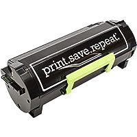 印刷。保存。繰り返します。Lexmark 501x Extra高イールドリサイクルトナーカートリッジms410、ms415、ms510、ms610[ 10, 000ページ]