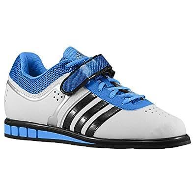 (アディダス)adidas 14.5 Core WhiteBlackBright Royal powerlift パワーリフト 靴 シューズ trainer トレイナー 2 men's メンズ 男性用 - white ホワイト / black 【並行輸入品】