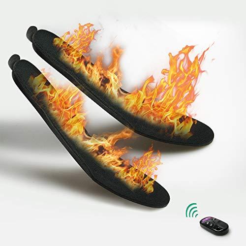 XVOOX 束縛ない 無線 リモコン 電熱 充電式 冬用 イ...