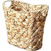 ランドリーバスケット シンプルでファッショナブルな多機能の雑貨のおもちゃのストレージバスケット籐の生産草木の木の色 ZHANGQIANG (サイズ さいず : 39cm*24cm*40cm)