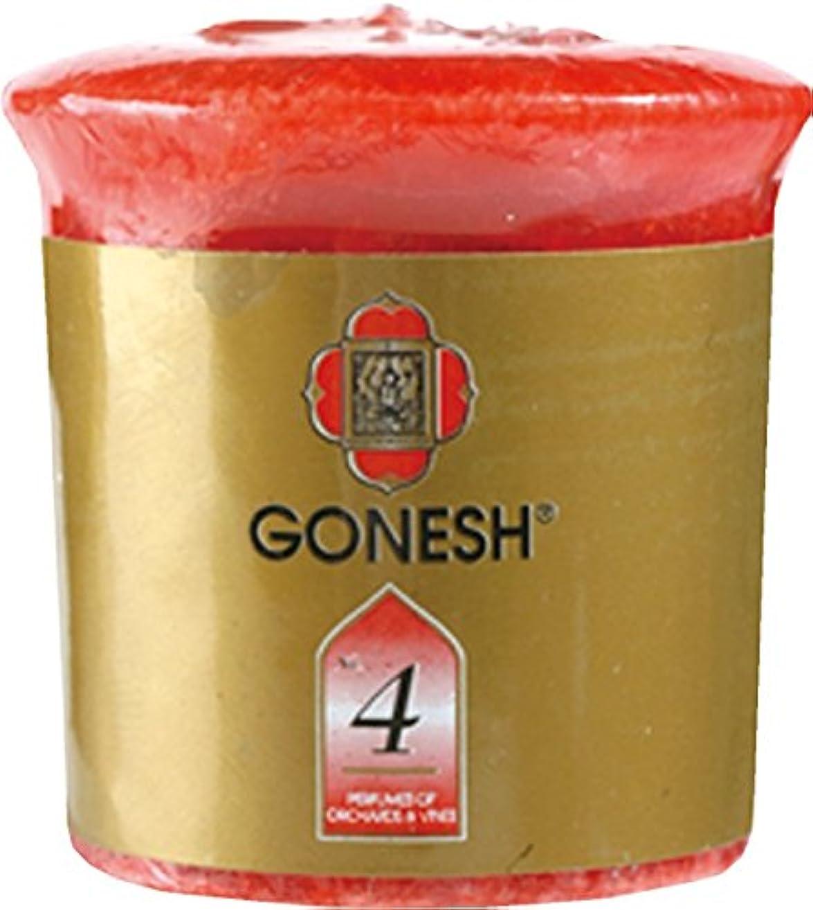 推論発明忠実GONESH VOTIVE CANDLE #4 ガーネッシュボーティブキャンドル#4 X 6個セット