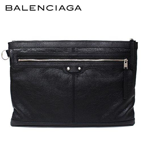 (バレンシアガ) BALENCIAGA クラッチバッグ CLIP L クリップL ブラック 273023 D9H04 1000 [並行輸入品]