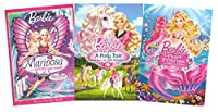 Barbie Collection # 4 (Barbie: Mariposa and her Butterfly Fairy Friends / Barbie: The Pearl Princess / Barbie: Her