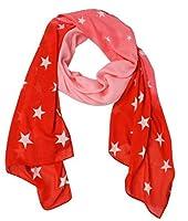 Peach Couture ACCESSORY レディース スカーフ US サイズ: 21 x 74 カラー: レッド