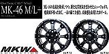 MKW MK-46 M/L+ ミルドブラック 国産 ヨコハマ ジオランダー A/T-S 265/65R17 サマータイヤ & ホイール 4本セット