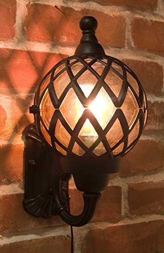 ライト リビング照明 ブラケットタイプの アンティーク調 アベニューランプ ブラック...