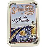 ラ?サボネリー アンティーク缶入り石鹸 タイプ200 ラベンダー畑(ラベンダー)