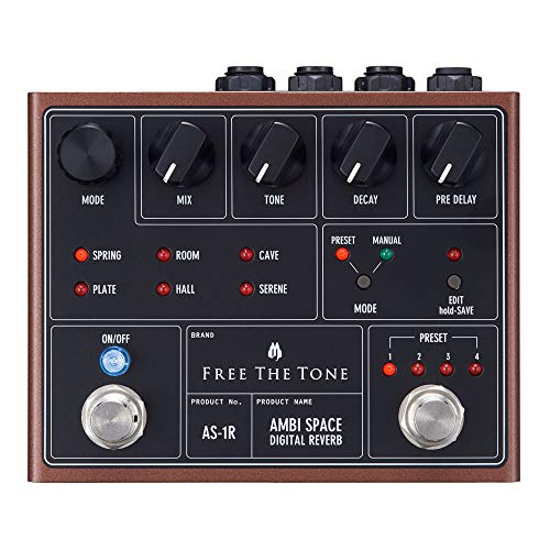 FREE THE TONE / AMBI SPACE AS-1R DIGITAL REVERB リバーブ フリーザトーン
