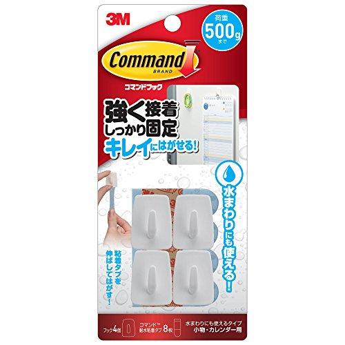 3M コマンド フック 水まわりにも使えるタイプ 小物・カレ...