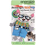 PetStages Madcap Geeky Squeaky Mouse Cat Toy