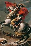 ジグソーパズル アートラウンジシリーズ ナポレオンのアルプス越え(ジャック=ルイ・ダヴィッド) 300ピース(300-233) ナポレオンのアルプス越え(ジャック=ルイ・ダヴィッド)