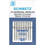50 Schmetz Universal Sewing Machine Needles 130/705H 15x1H Size 80/12