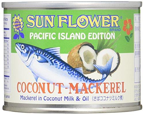 サンフラワー さばココナツミルク煮 190g×4個