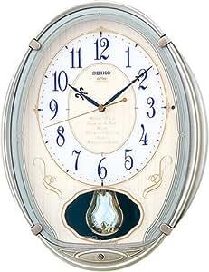 SEIKO CLOCK (セイコークロック) 掛け時計 ウエーブシンフォニー 電波時計 ツイン・パ AM222S