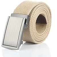 Gelante Canvas Web Belts Adjustable Durable Military Style