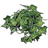MARJON フラワー 人工アイビー フェイクの葉 植物 ガーランド ガーランド ガーランド ガーデン デコレーション (スイートポテトの葉) ハロウィン クリスマス 感謝祭 デコレーション ギフト