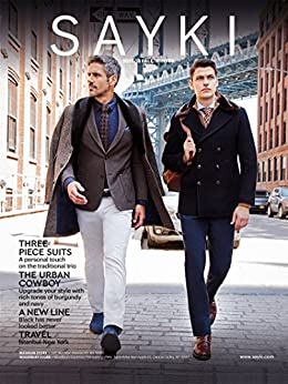 [SAYKI, Hatem]のSAYKI: MEN'S FASHION BRAND: SUITS, BLAZERS, PANTS, CHINOS, TRICOTS (FALL-WINTER 2017-2018 Book 1) (English Edition)