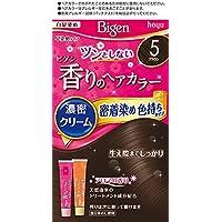 ホーユー ビゲン香りのヘアカラークリーム5 (ブラウン) 1剤40g+2剤40g [医薬部外品]
