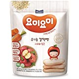 Maeil Organic Rice Rusk Apple and Carrot, 30g