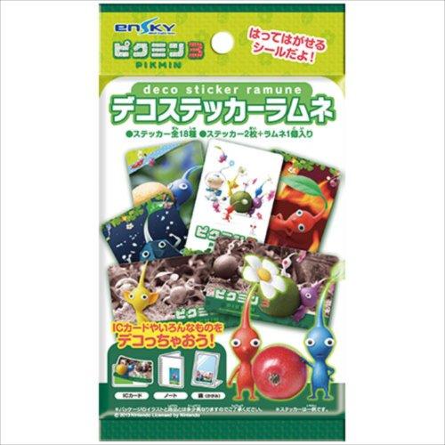 ピクミン3 デコステッカーラムネ 20個入りBOX(食玩)
