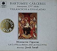 Carceres: Villancicos & Ensaladas, Savall