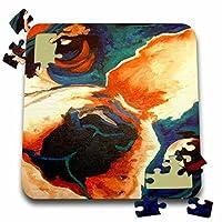 Taiche Acrylic Art–犬フレンチブルドッグ–10x 10インチパズル( P。_ 18294_ 2)