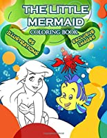 Little Mermaid Coloring Book: Little Mermaid Jumbo Coloring Book With Exclusive Images For All Ages