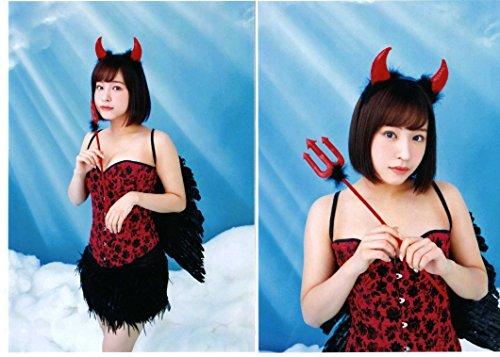 NMB48 2016-2017スクールカレンダー THE百合劇場 生写真 2枚コンプ 近藤 里奈