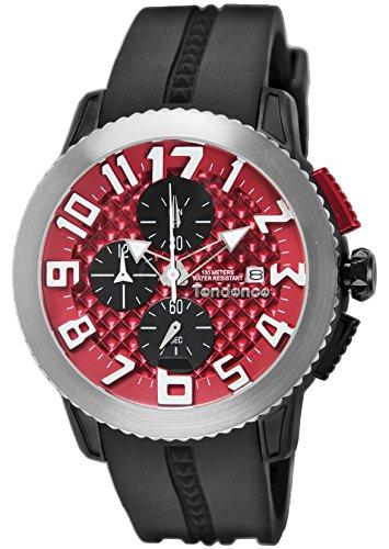 [テンデンス]TENDENCE 腕時計 ドーム レッド文字盤 TY016005 【並行輸入品】