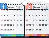 高橋 2019年 カレンダー 卓上 2ヶ月 B7×2面 E162 ([カレンダー])