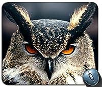 フクロウのクローズアップ13548マウスパッドマットマウスパッドホットギフト