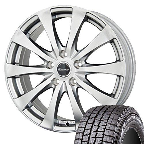 国産スタッドレスタイヤ・ホイール 1本セット 16インチ ダンロップ WINTERMAXX01 205/60R16+ホットスタッフ エクスタープラスワン ヴォクシー  /  ストリーム  /  ステップワゴン  / アクセラスポーツ