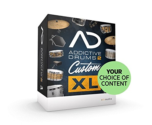 XLN Audio Addictive Drums 2 Custom XL ソフトウェアドラム音源