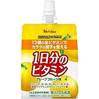 PERFECT VITAMIN 1日分のビタミンゼリーグレープフルーツ味 180g×24袋