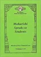 Maharishi Speaks to Students: Mastery Over Natural Law [並行輸入品]