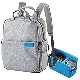 エレコム off toco 2styleバックパック リュックサック タブレット収納ポケット カメラ収納インナー付 Sサイズ グレー DGB-S036GY