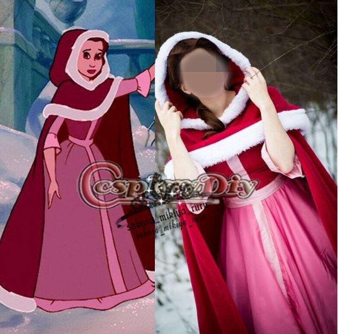 良心的浮浪者多様な美女と野獣美人赤頭巾プリンセスドレスコスプレ衣装  オーダーサイズ可能 クリスマス、ハロウィン イベント仮装  コスチューム