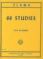 SLAMA A. - Estudios Basicos (66) en todos los Tonos para Fagot