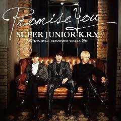 SUPER JUNIOR-K.R.Y.「Promise You」のジャケット画像
