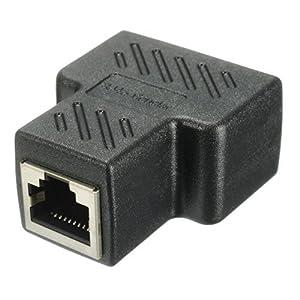 HUACAM HCM68   LANケーブル延長コネクタ  2分岐 1pack