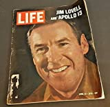 LIFE Magazine - April 24, 1970 - Jim Lovell And Apollo 13 On Cover