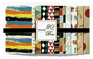 日本ホールマーク ポチ袋 20デザイン ドローイング 720995
